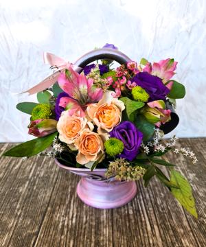 Cosulet ceramic flori mix 1