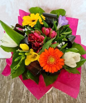 Buchet cu flori de primavara 1