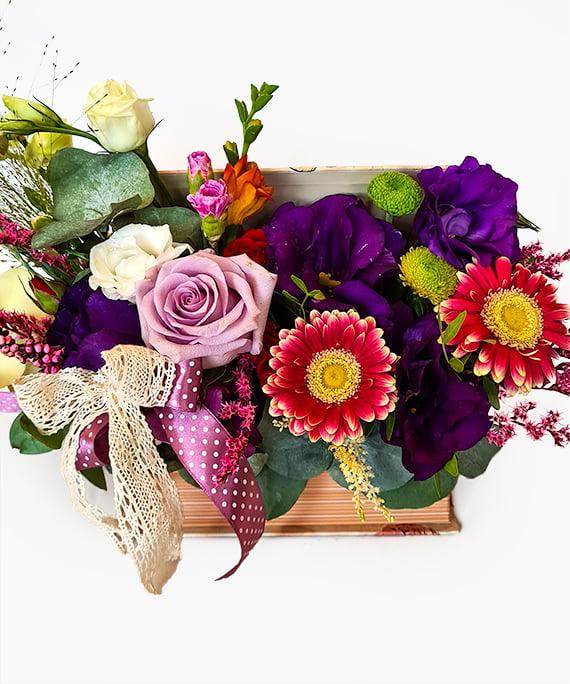 Carte cu flori 2