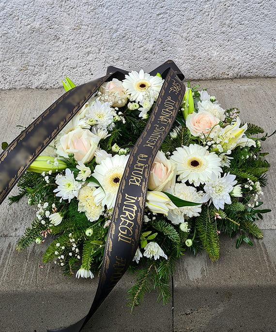 Coroana funerara alba 4 a
