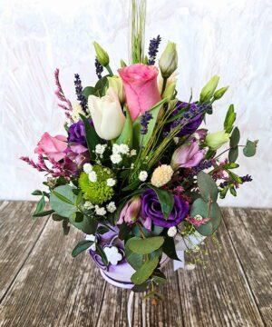 Flori mixate in ulcica unicat 2