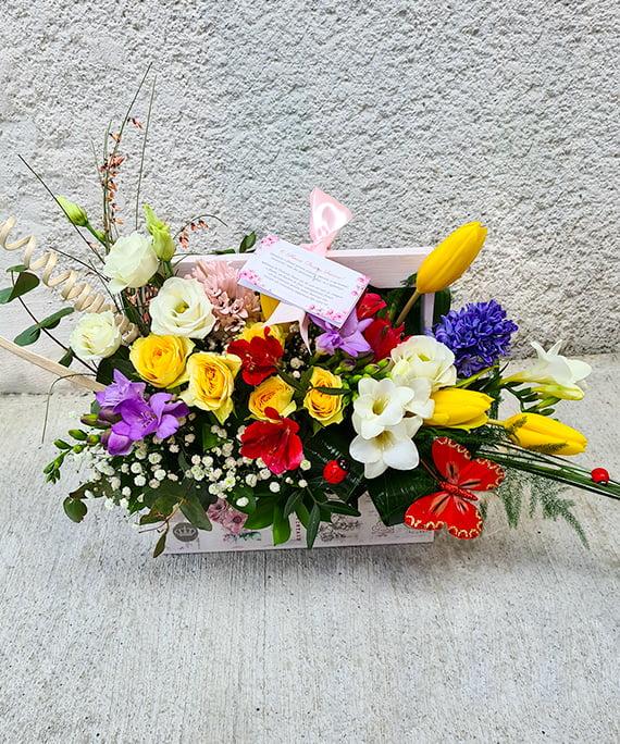 Ladita cu flori de primavara 1