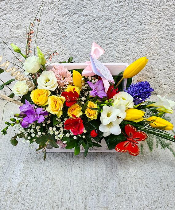 Ladita cu flori de primavara 3