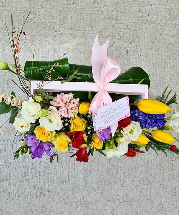 Ladita cu flori de primavara 4