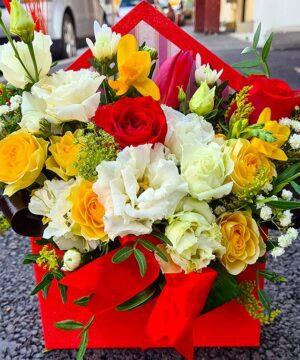Plic cu flori mix a2
