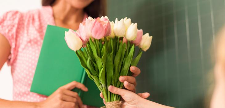 Flori pentru școală